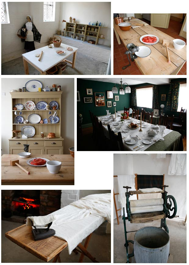 Come and see the sunken cold store, dining room, kitchen and outside wash house