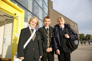 First day for the East Manchester Academy 'pioneers'.