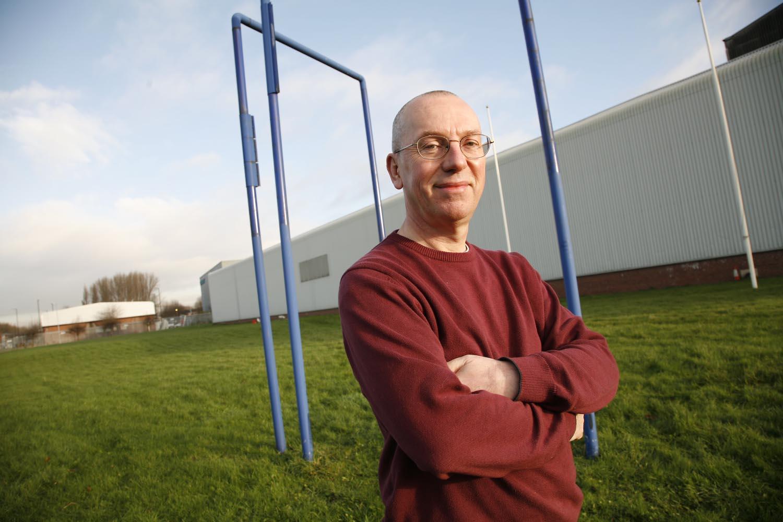 Last Man Standing: David Hibbert was one of the last Rolls-Royce employees to leave Crossley Works