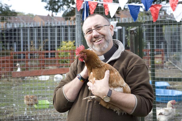 "Rev David Gray: ""You don't need an allotment to keep hens."""