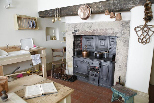 Experience a Victorian kitchen: no fridge or microwave here!