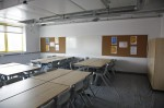 """One classroom has already been fitted-out to show how it might look..."""