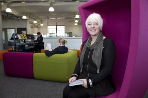 "Maxine Goulding, Miles Platting Group Manager: ""The new Beswick Library is gorgeous. We love it!"""
