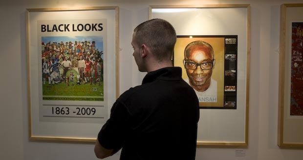 Colin Yates' Black looks exhibition at Sportcity until the 26th