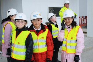 All hard hat and yellow vests: checking out the new Academy