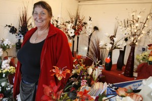 Tricia McElwee: selling well at Newton Heath