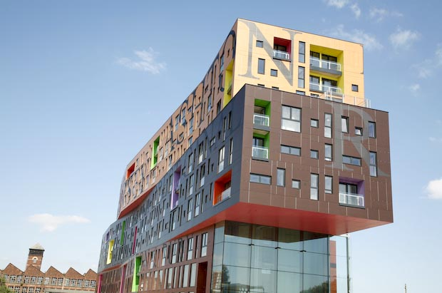 The Chips building in New Islington is now complete
