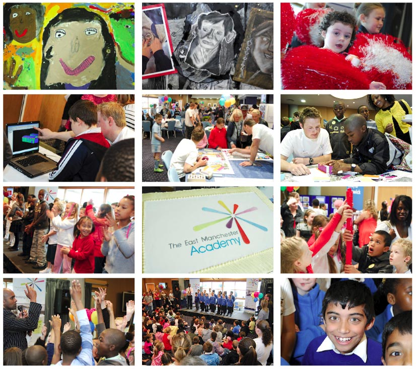 Great fun at the launch of the East Manchester Academy, 23rd May. (Pictures by Karen Wright Photography)